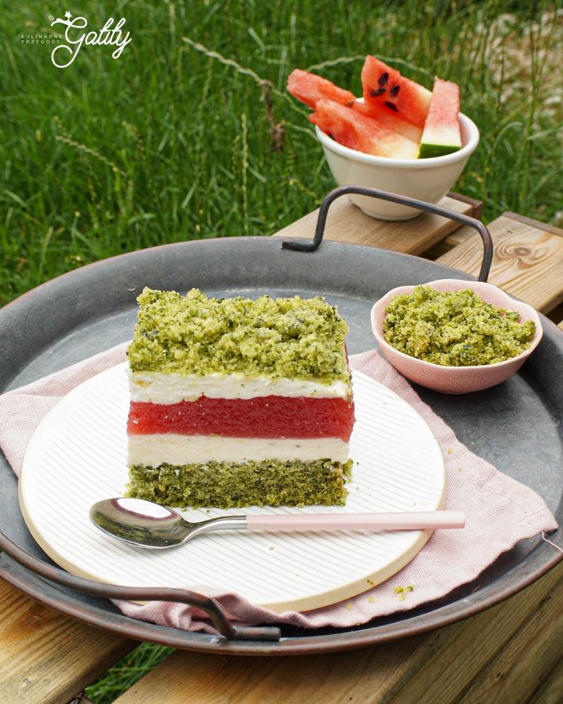 zielono-bialo-czerwone-ciasto