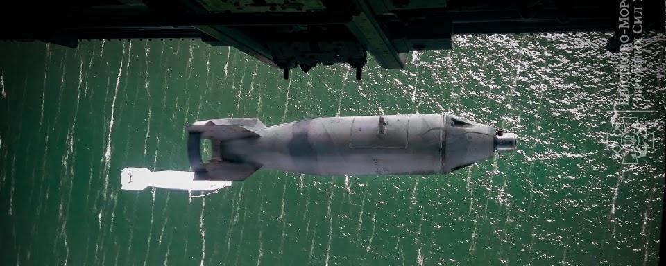 Морські гелікоптери тренувалися бомбити ворожі кораблі