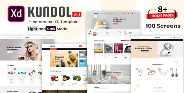Best Multipurpose eCommerce XD Template