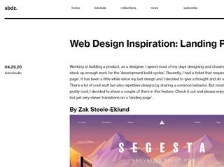 spletne strani navdihi marketing blog