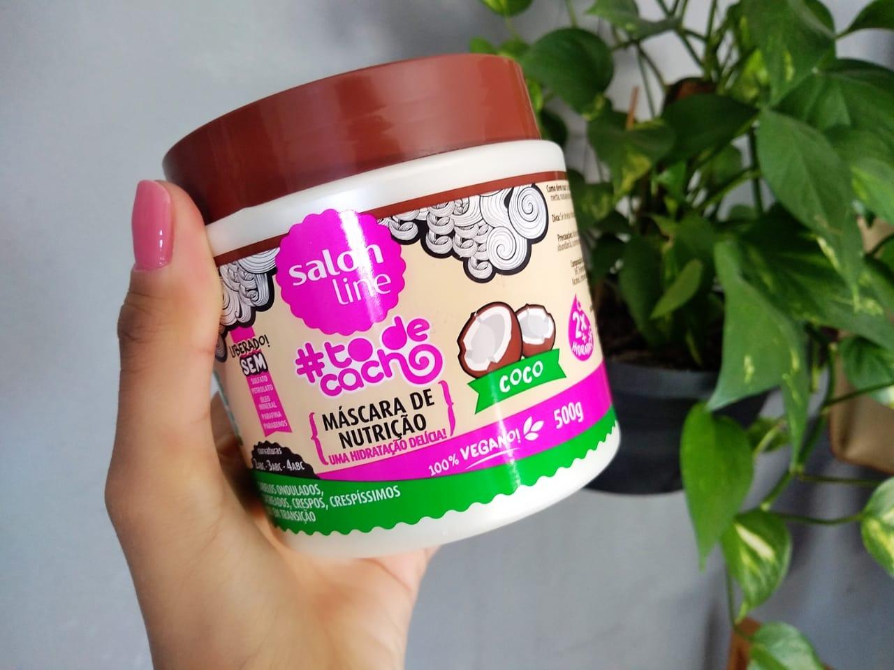 Nutrição Para Cabelos Cacheados: Máscara Salon Line Coco 'Uma Hidratação Delícia'
