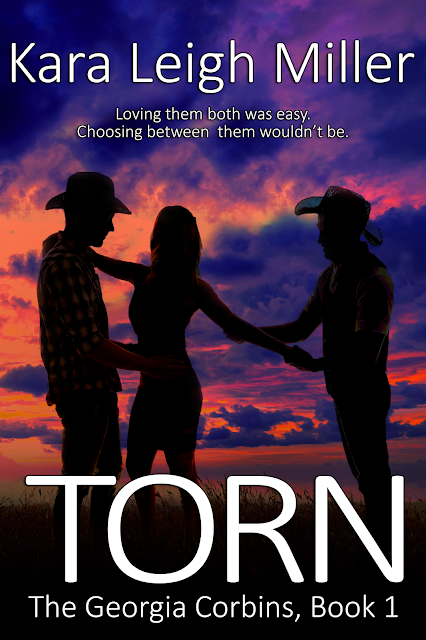 Cover Reveal ~ TORN by Kara Leigh Miller