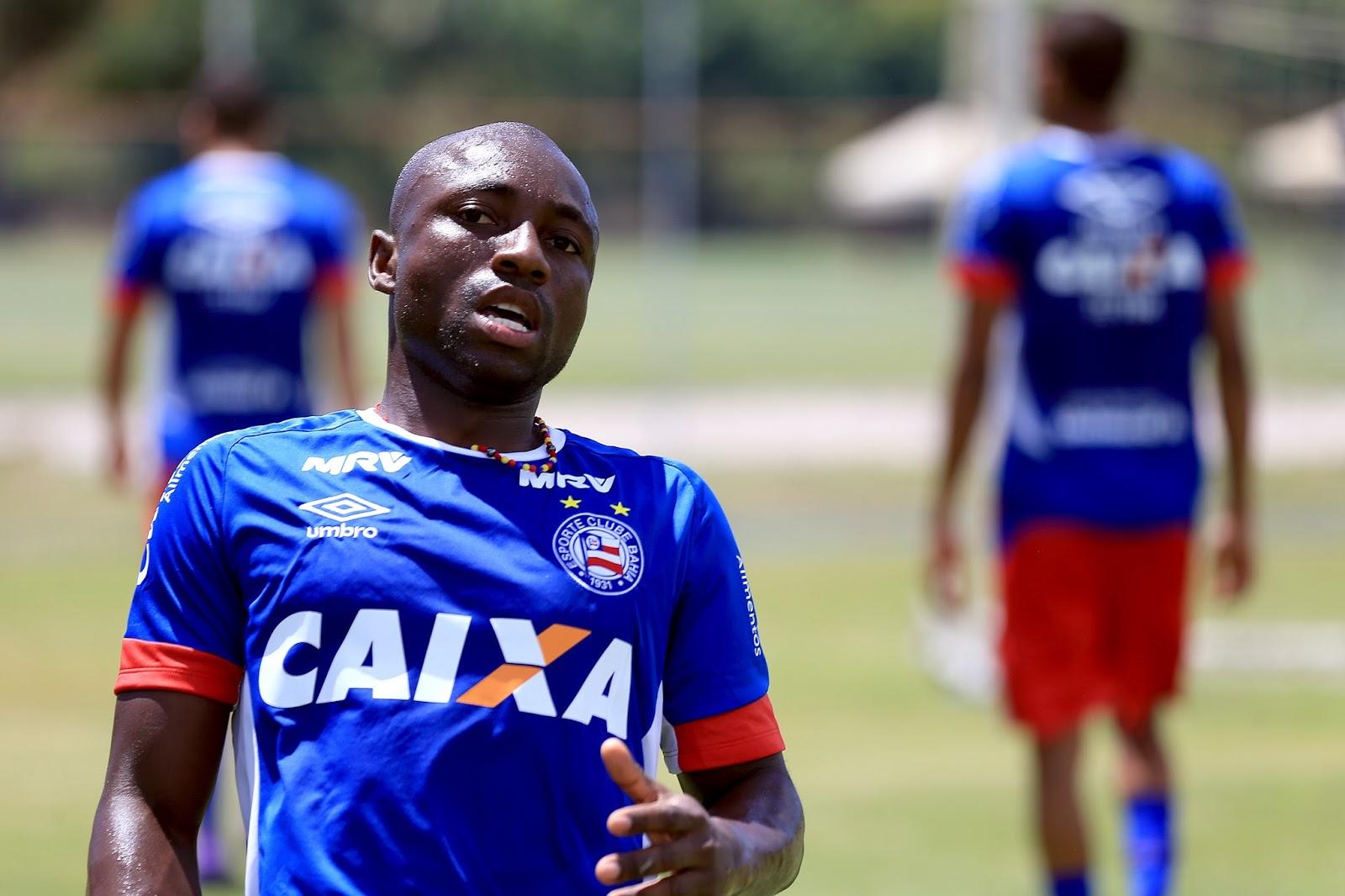 Novo reforço do Bahia, Armero deve participar de estreia tricolor nos EUA (Foto: Felipe Oliveira / ECB)
