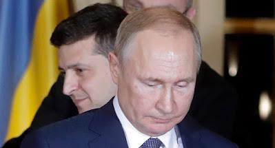 Путин отказывается обсуждать Крым и Донбасс на переговорах с Зеленским