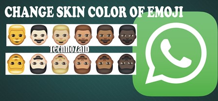 If you want to change the skin color of emoticons in WhatsApp