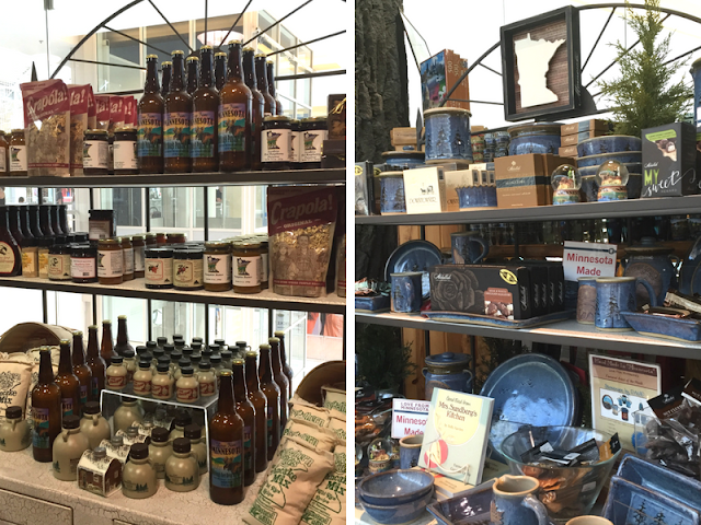 Love From Minnesota features pottery, sauces, maple syrup, mixes and more made in Minnesota