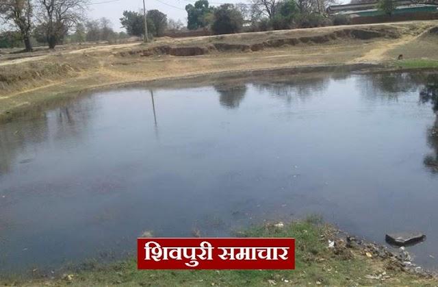 घर से गायब 13 वर्षीय महेन्द्र लाश के रूप में तालाब किनारे मिला / PICHHORE NEWS