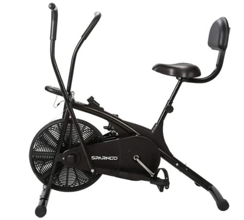 Sparnod Fitness SAB-05 Air Bike Exercise Cycle for Home Gym