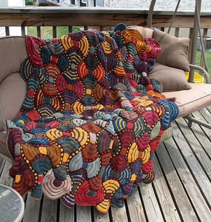 narzuta na drutach