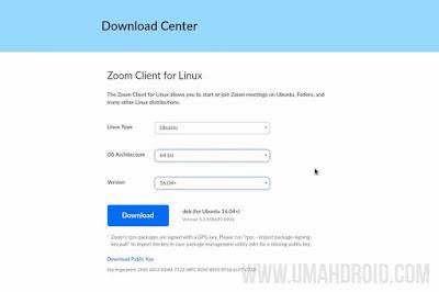 Download Zoom Linux Terbaru