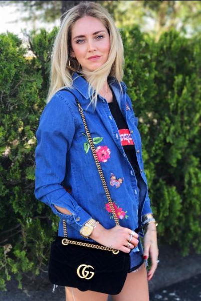 Chiara Ferragni, blogueira de moda estrangeira