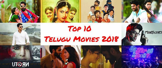 Top 10 Telugu movies of 2018