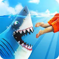 لعبة Hungry Shark World مهكرة Apk