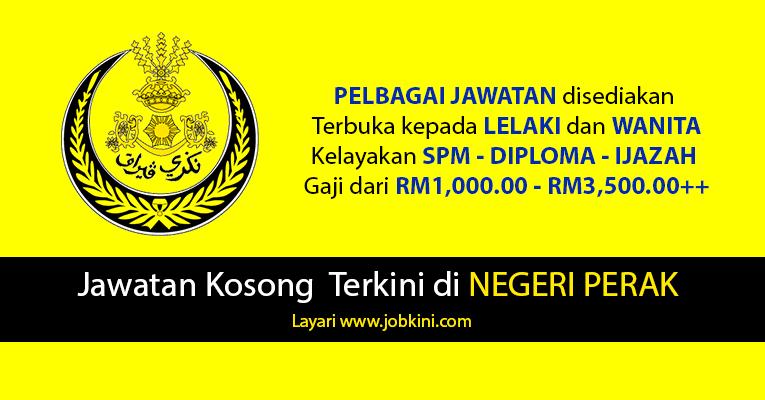 Kekosongan Jawatan di Negeri Perak