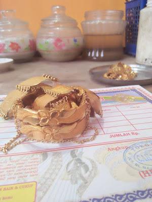 Model Gelang emas 24 karat