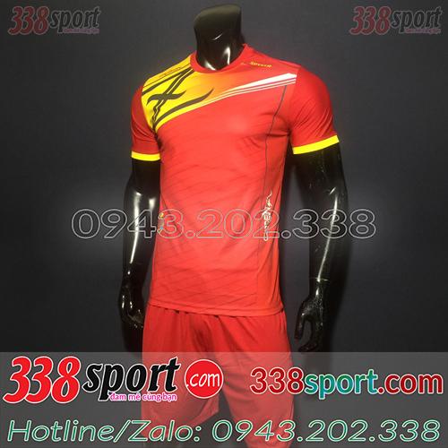 Áo Bóng Đá Không Logo Hot Zavikia Spyker STA02 Đỏ