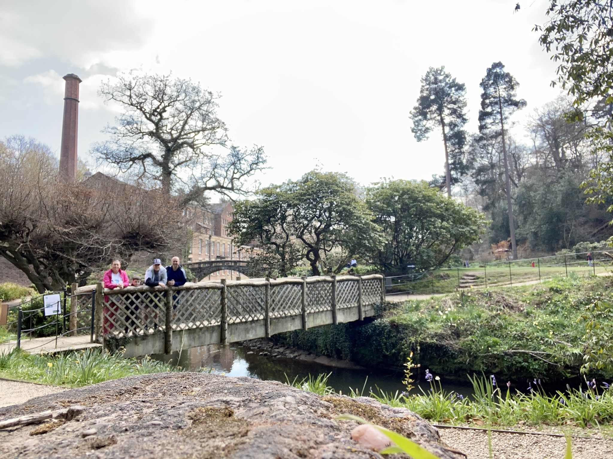 bridge at Quarry Bank Mill