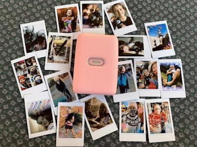 INSTAX Mini Link smartphone printer with INSTAX prints