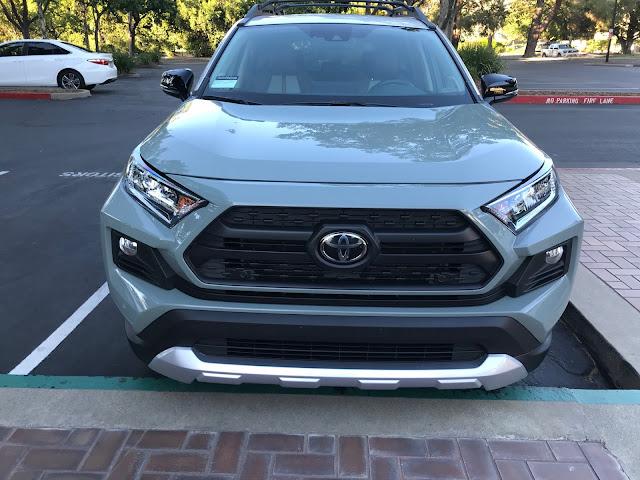 Front view of 2019 Toyota RAV4 Adventure AWD