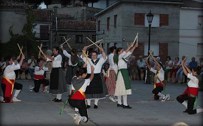 Danzas tradicionales en la fiesta de los Gancheros del Alto Tajo