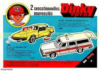 Dinky Toys, les publicités