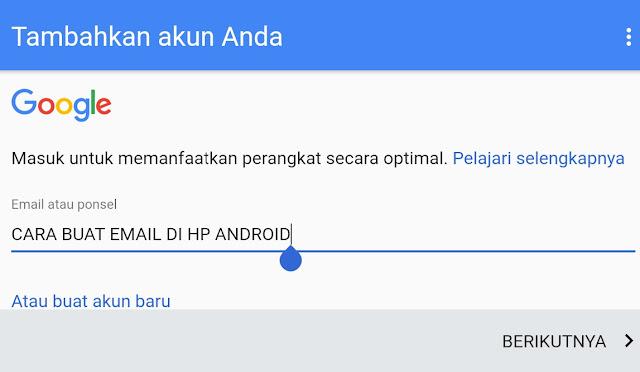 Trik Cepat, Cara Membuat Email di Hp Android dan Komputer