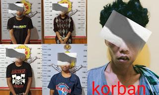 4 Pemuda Diamankan Polres Torut Usai Melakukan Tidak Pidana Penganiayaan