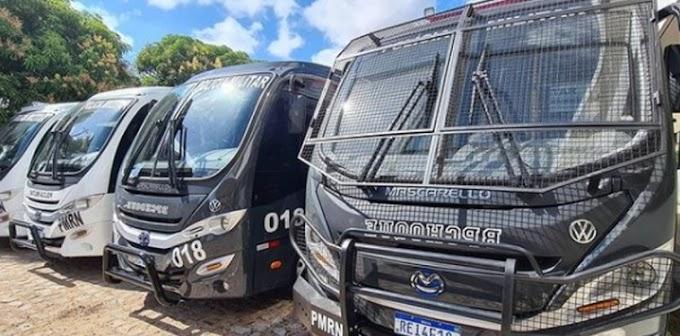Governo Bolsonaro garante entrega de mais veículos e equipamentos para a PM, Bombeiros e ITEP do RN