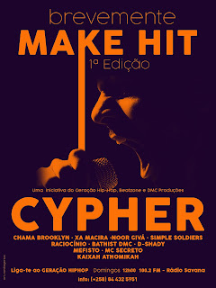 Geração HipHop - Make Hit Cypher 1 | Brevemente