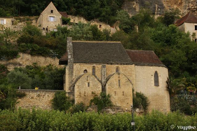 Vista della caratteristica cappella del villaggio