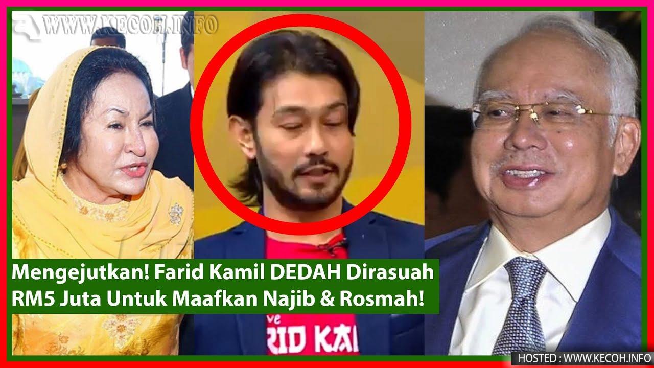 Farid Kamil Dakwa Dirasuah RM5 Juta Untuk Maafkan Najib Rosmah