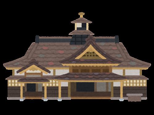箱館奉行所のイラスト