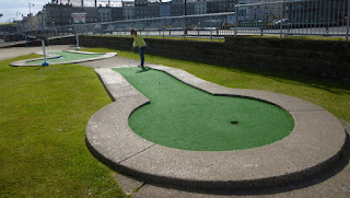 Arnold Palmer Putting Course in Whitby