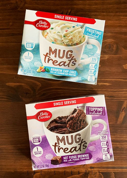 Birthday in a Box gift idea - cake mixes
