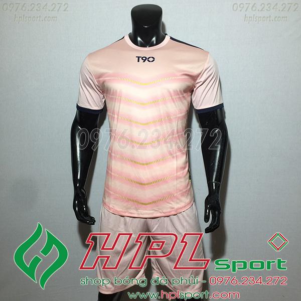 Áo ko logo T90 Leg màu hồng