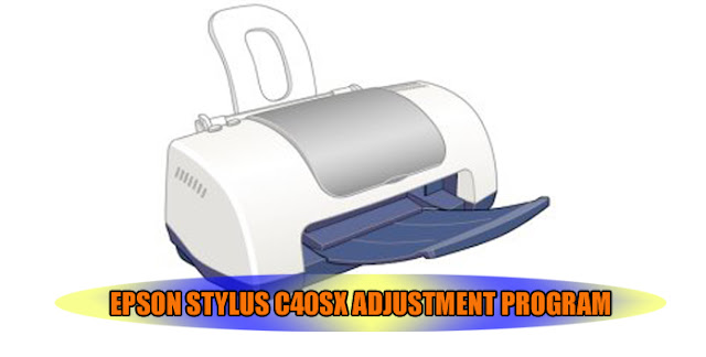 Epson Stylus C40SX Printer Adjustment Program