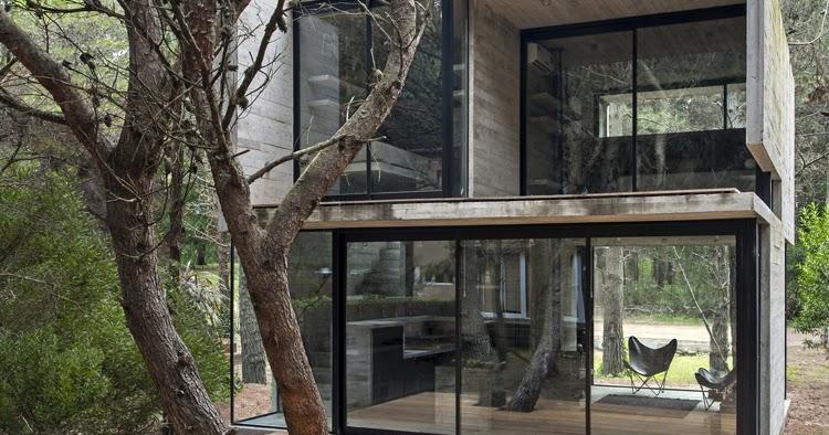 decomanka dom z surowego betonu. Black Bedroom Furniture Sets. Home Design Ideas