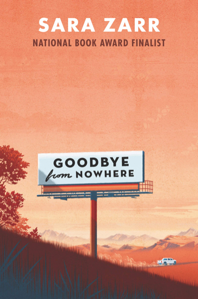 Goodbye from Nowhere by Sara Zarr | Superior Young Adult Fiction | Book Review