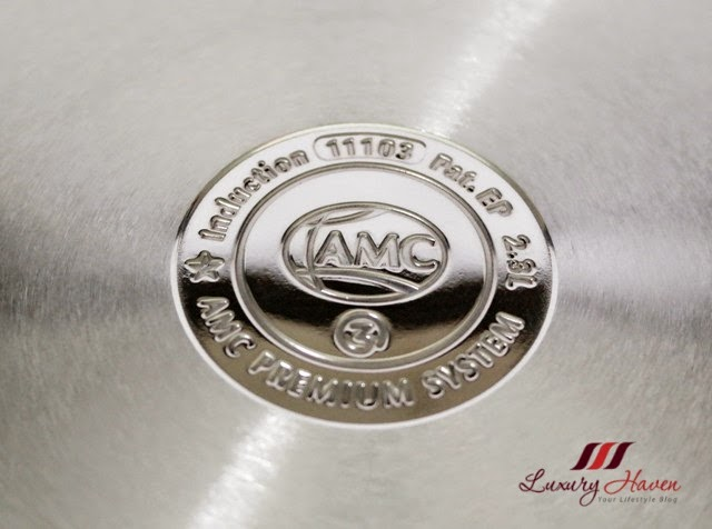 amc premium system cooking pot akkutherm base