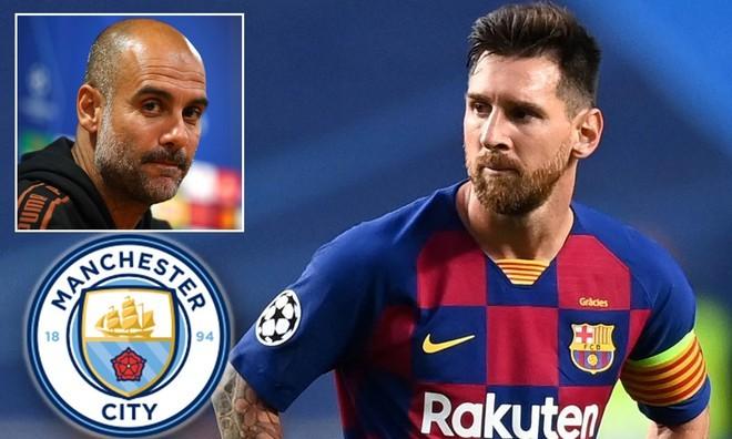 """Phi vụ thế kỷ Man City mua Messi: """"Tế thần"""" 3 SAO, bạo chi 100 triệu euro"""