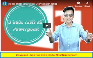 Thiết kế Powerpoint chuyên nghiệp Download miễn phí