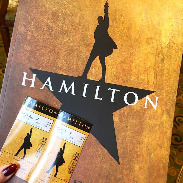 Hamilton programme and tickets