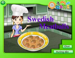 Chơi game thịt băm viên Thụy Điển