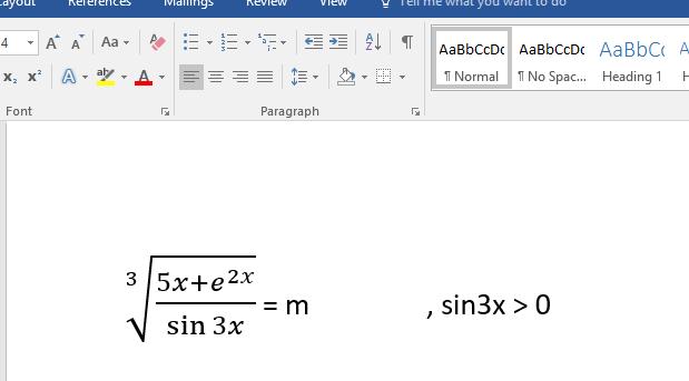 Cách gõ công thức toán học trong Word 2007, 2010, 2013, 2016