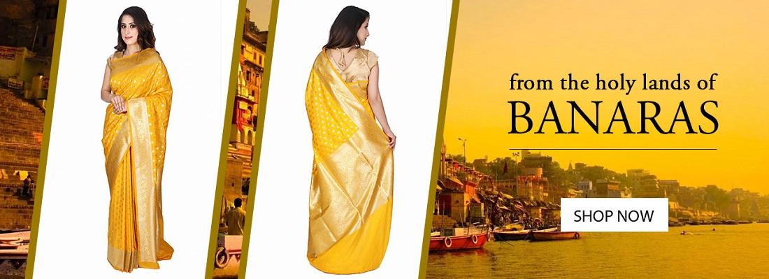 Buy Online Varanasi Saree