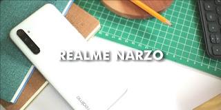 Rekomendasi HP 2 Jutaan 2021 Realme Narzo
