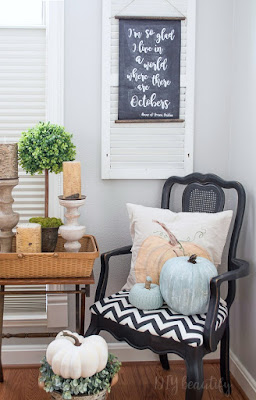 3 tips to creating stunning fall vignettes | DIY beautify