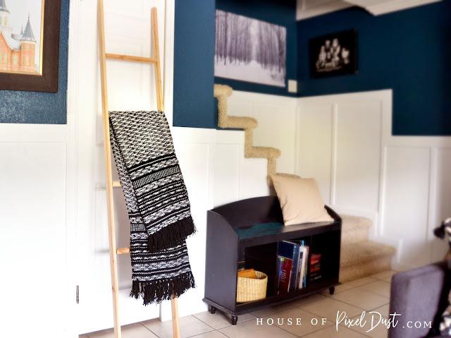 Quick & Easy DIY Blanket Ladder (Make for under $10)