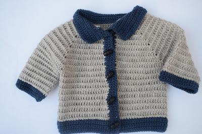 5 - Crochet imagen Chaleco con mangas para niño a crochet y ganchillo por Majovel Crochet