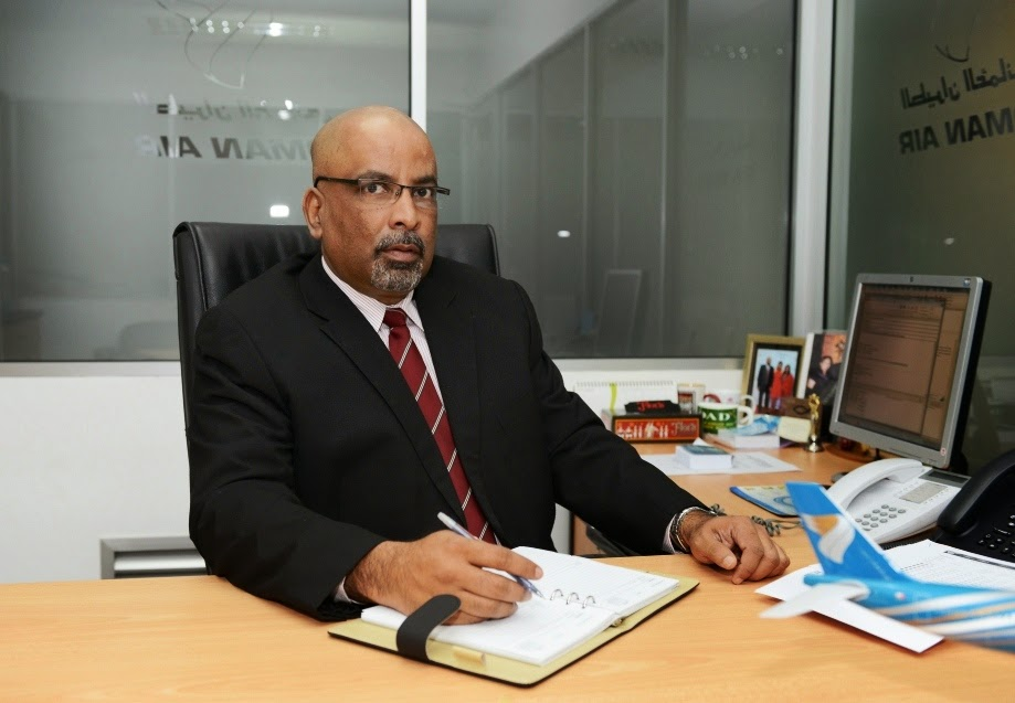 Gihan Karunaratne - Country Manager Oman Air SL & Maldives